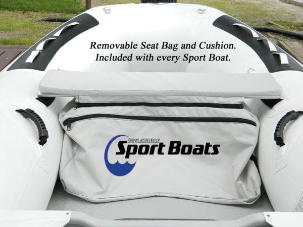 Seat bag and cushion