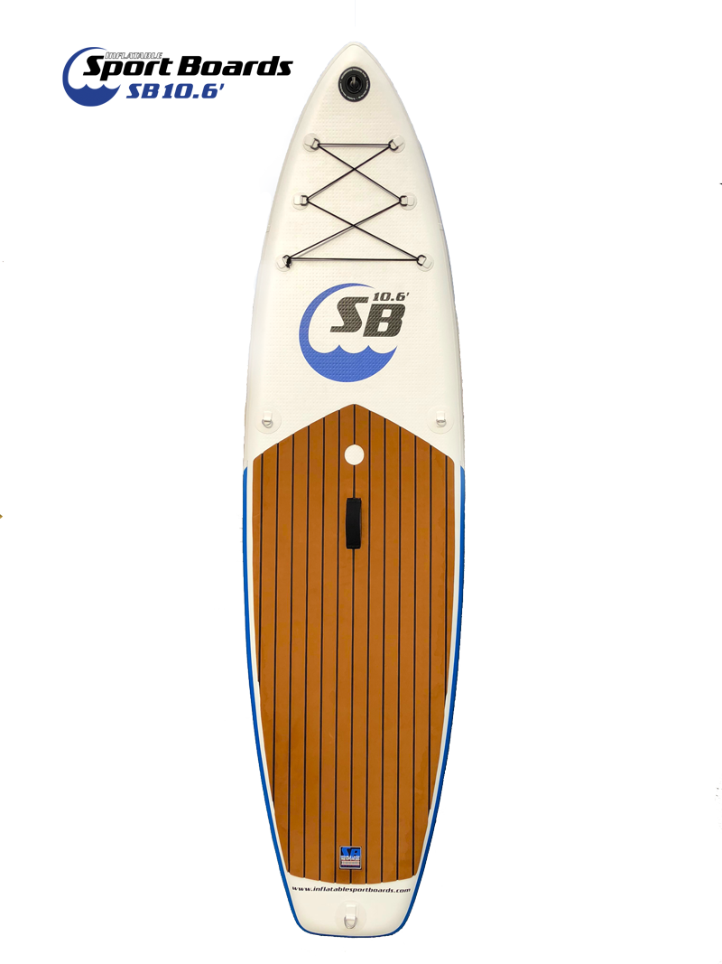 Front of Inflatable Sport Board ISUP 10.6'
