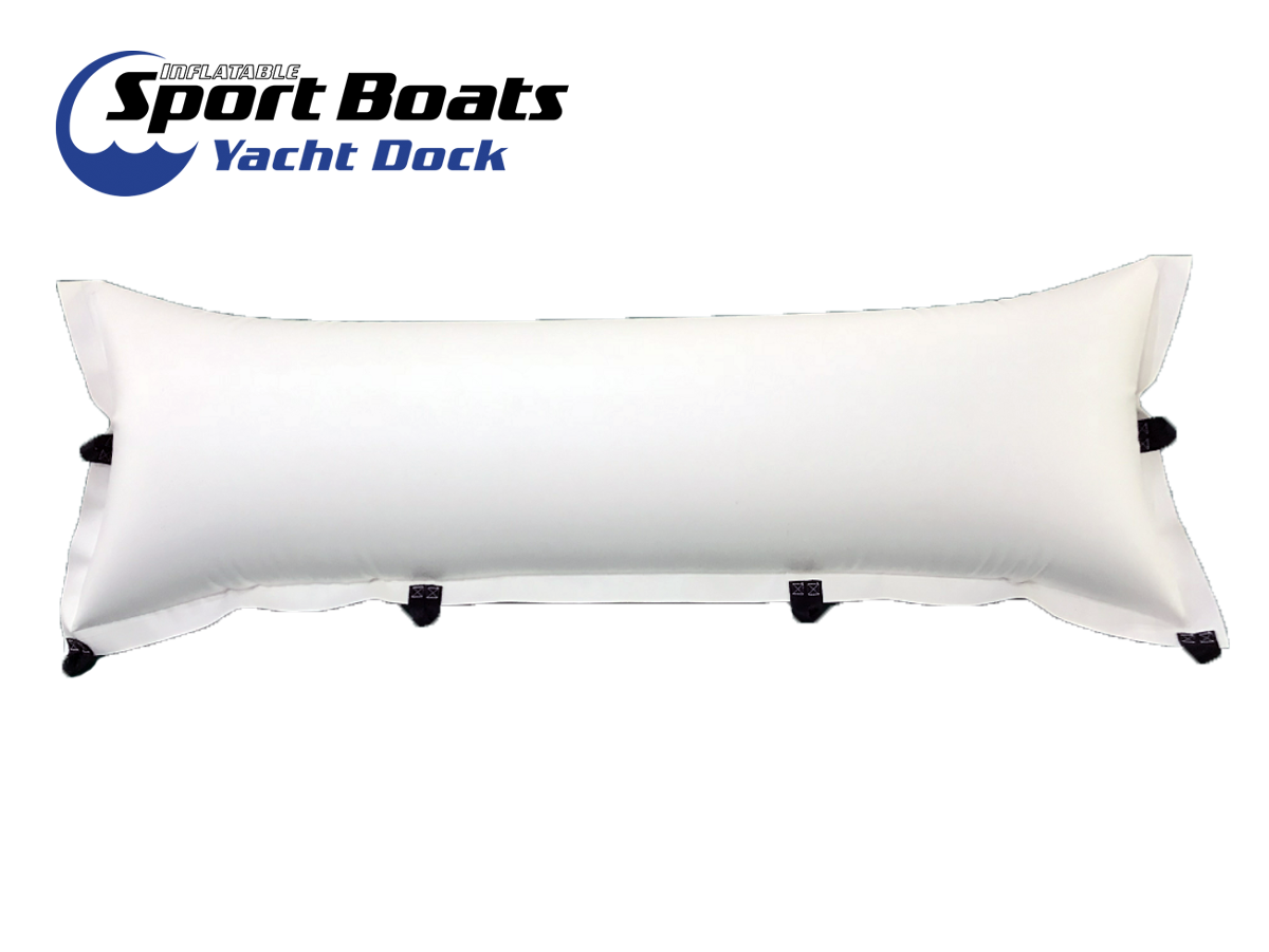 inflatable pillow attachment for swim platforms